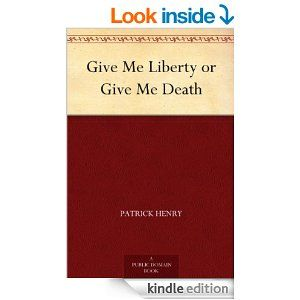127 best great reads images on pinterest amazon give me liberty or give me death ebook patrick henry fandeluxe PDF