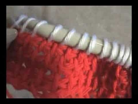 tutorial on tunisian crochet color change