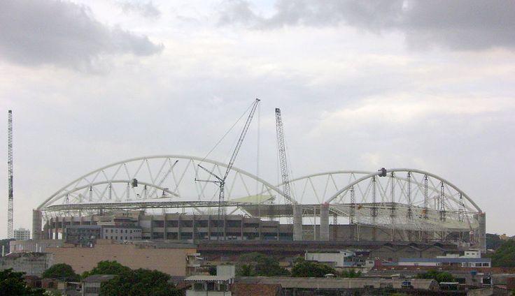 """""""Engenhão"""".   """"Estádio Olímpico João Havelange"""". 2007. # Rio de Janeiro, Brasil."""