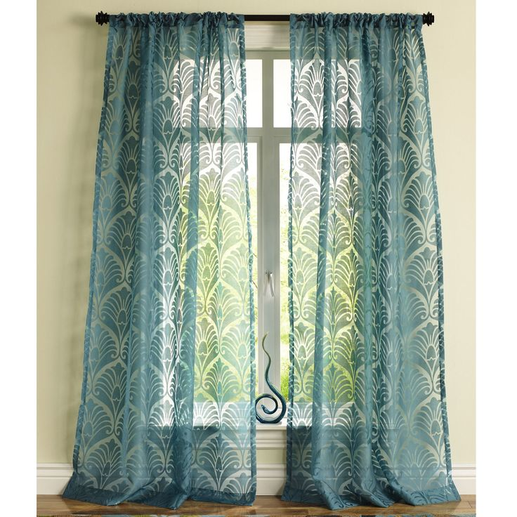 White Lined Tab Top Curtains Pier One Imports Dining Room C