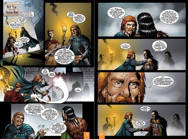 Macbeth Motion Comic as E-learning Scenario Model - Multimedia Learning