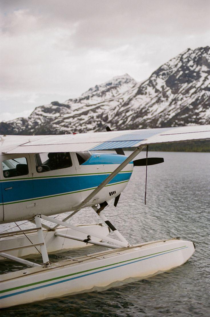 travel airplane landing hydroplane seaplane turquoise plane water