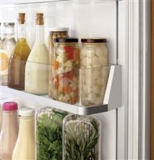 """30"""" Fully Integrated Customizable Refrigerator with Convertible Drawer - The GE Monogram Collection"""