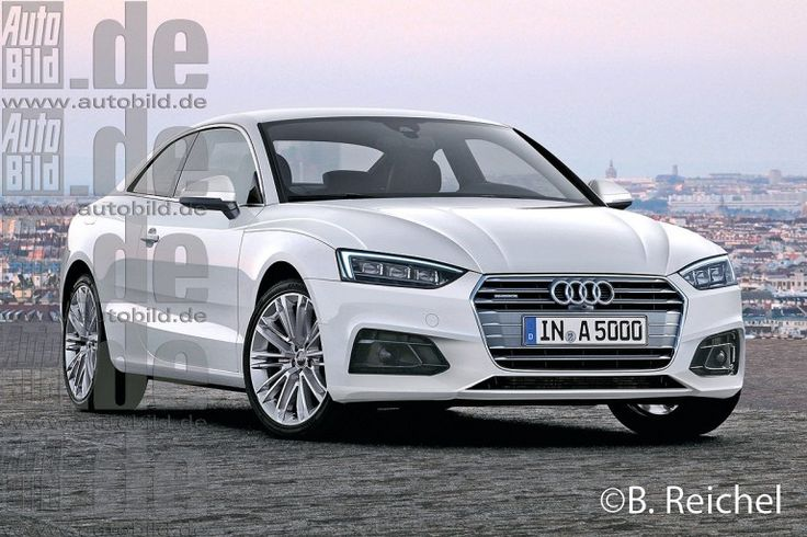 2016 #Audi A5 coupe will be revealed in May – #Rendering -