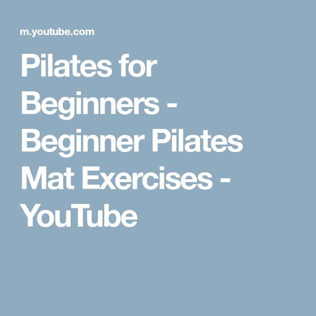 Best 25+ Beginner Pilates Ideas On Pinterest