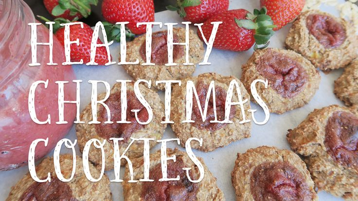 Vegan christmas cookies - My favourite vegan low-fat christmas cookie recipe! What better way to get into the christmas spirit? They make the perfect guilt-free, sugar-free christmas treat that all your family & friends will love! Watch my recipe video here - https://youtu.be/iQdSuAko8NE