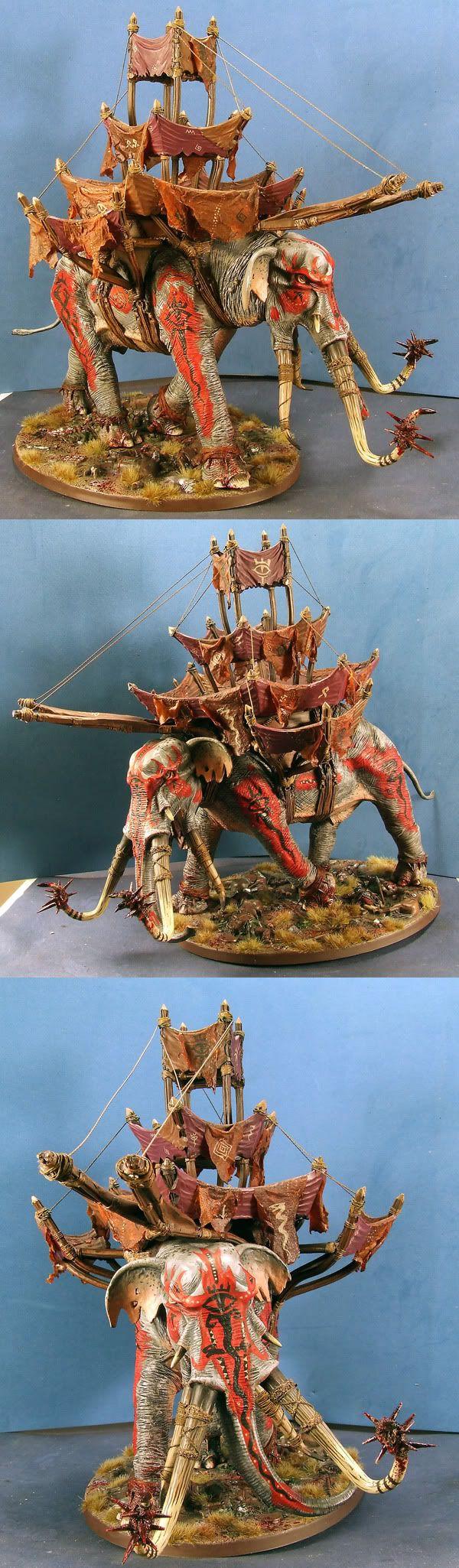 Games workshop lord of the Rings War Mumak of Harad