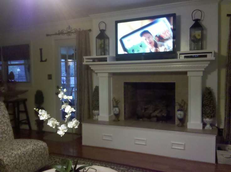 Our Fireplace After Reno I Love It I Had Scotty Make Two