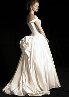 Dress by Elizabeth Emanuel - I love bustles...