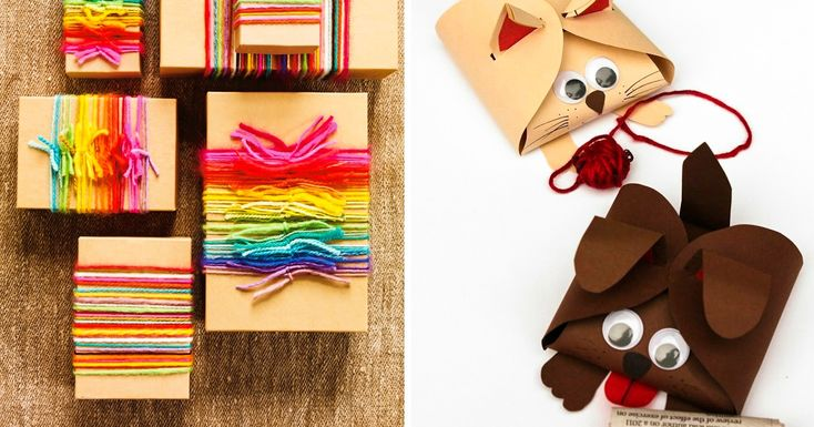 Ten superb gift packaging ideas your children will love to help you make