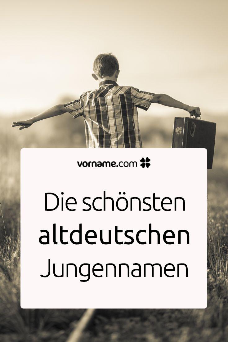 Du liebst alte deutsche Namen und bist auf der Suche nach einem schönen Vornamen für einen Jungen? Hier findest Du eine Liste!