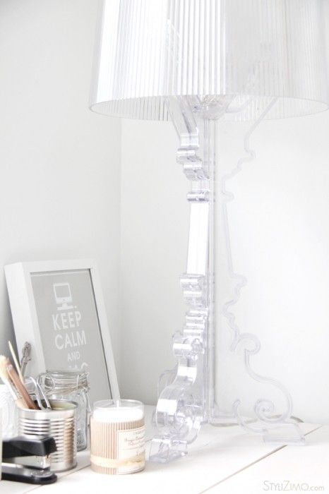 I love this lamp - Kartell Bourgie Lamp - you can buy it here : http://www.smartfurniture.com/products/Kartell-Bourgie-Lamp.html?utm_source=google&utm_medium=productsearch&utm_campaign=Kartell