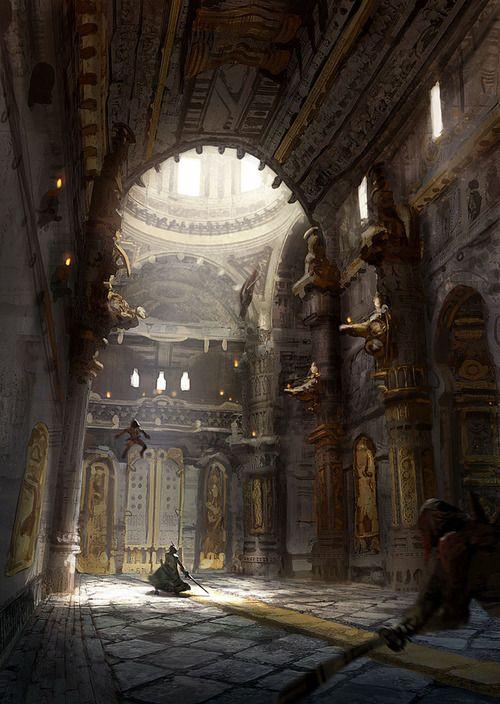 Fantasy Palace Interior