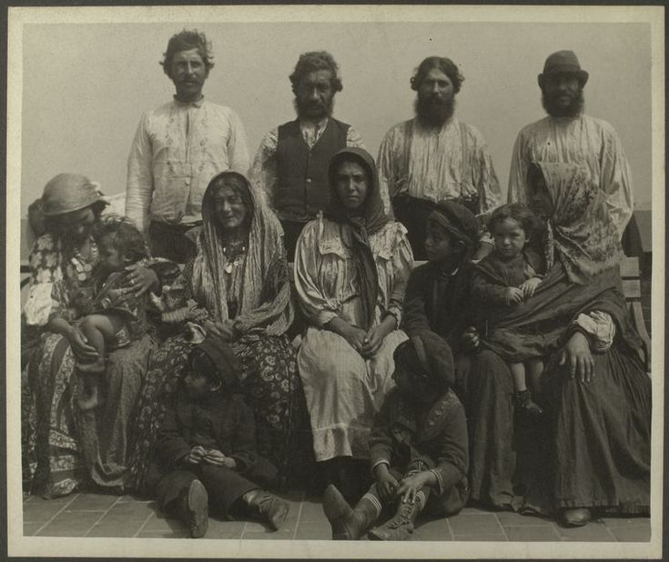 Serbian Gypsies, c. 1906, Ellis Island                ([ca. 1906]): Photos, History, Serbian Gypsy, Vintage Portraits, Vintage Photographers, Roma Gypsy, Romani Immigrants, Ellie Islands Immigrants, Immigrants Photo