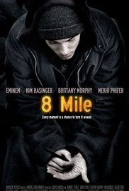 8 Mile (2002)  Drama, Music  R  7.0  A young rapper, struggling with every aspect of his life, wants to make it big but his friends and foes make this odyssey of rap harder than it may seem. (110 mins.)