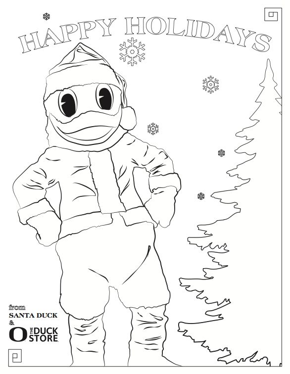 847 Best Images About I Love My Ducks On Pinterest Oregon Ducks Coloring Pages