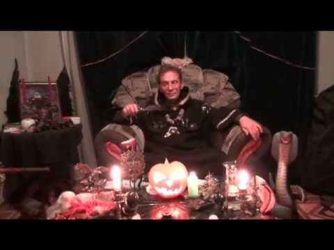 Ритуал на Хеллоуин  от Мага Николаева.