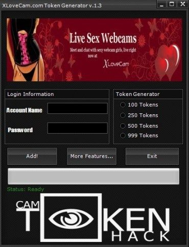 xLoveCam Token Generator Download it for Free