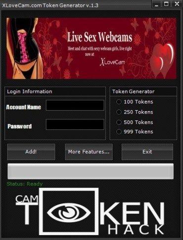 xLoveCam Token Generator Download it for Free