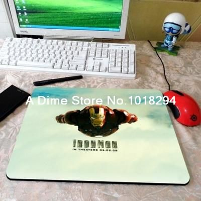 Iron Man mouse pad Flying iron man mousepad laptop silicone mouse pad 9size notbook computer gaming mouse pad gamer play mats