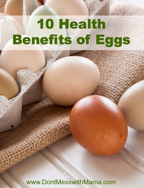 10 Health Benefits of Eggs - #nutrition #paleo #glutenfree - DontMesswithMama.com