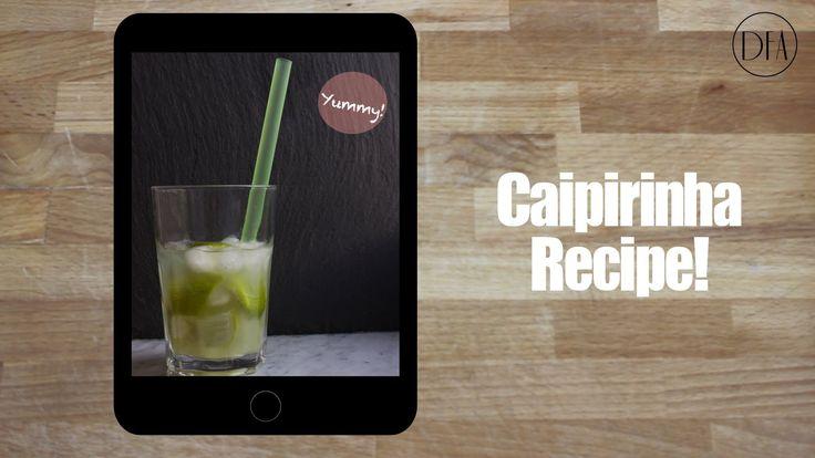 Caipirinha - Brazilian Recipe