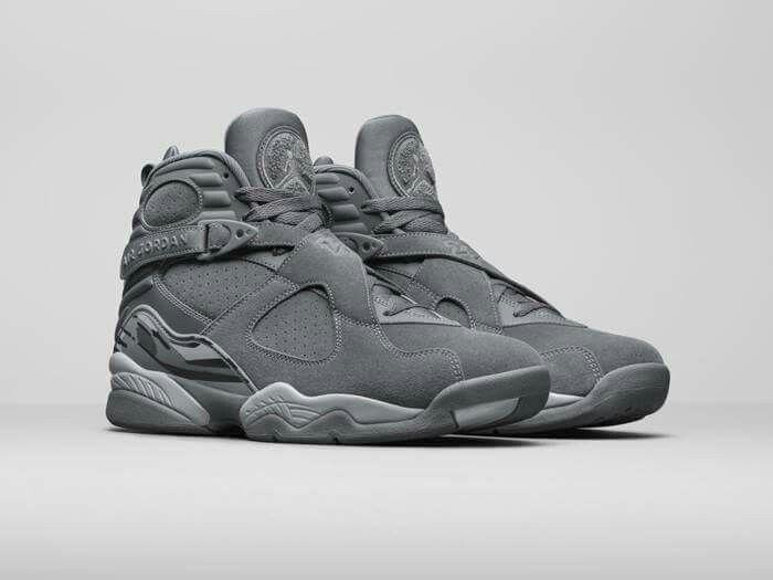 Air Jordan 8 Cool Grey Release Date - Sneaker Bar Detroit
