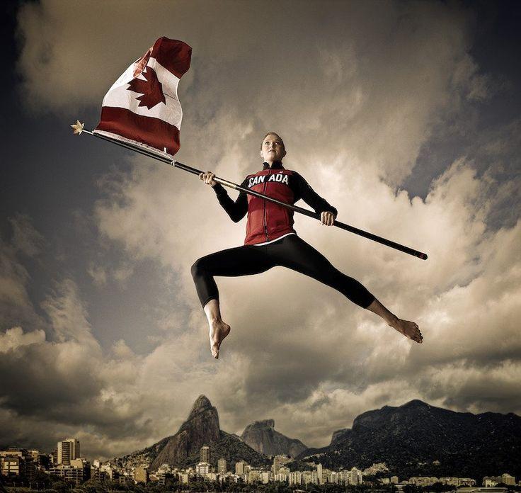 Rosie MacLennan will be Canada's Olympic flag bearer