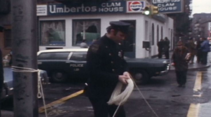 Crazy Joe Gallo's murder scene Umberto's Clam House in Little Italy, Manhattan - April 7, 1972