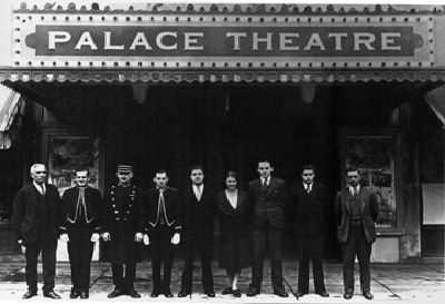I love this old shot back in 1931 of the Palace management and ushers.