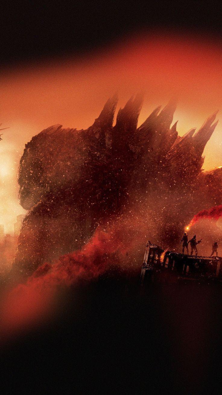 Godzilla Movie Poster Smartphone Wallpaper and Lockscreen HD Check more at phone...