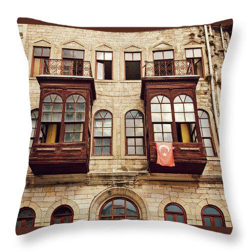 On The Streets Of Istanbul By Svetlana Yelkovan Throw Pillow #SvetlanaYelkovanFineArtPhotography #pillow  #ArtForHome #FineArtPrints #Istanbul
