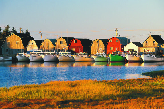 PEI – Enjoy deep sea and freshwater fishing as many guided and charter tours are available.