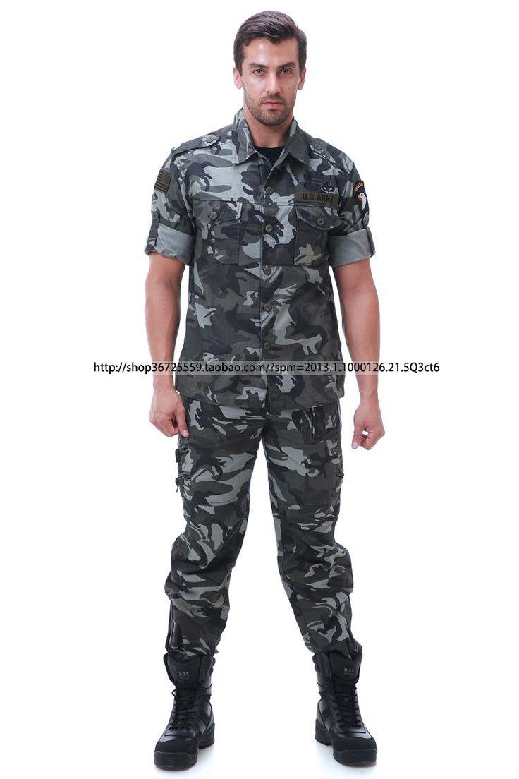 Армии сша военная форма для мужчин американской военная одежда кемпинг на открытом воздухе дивизии костюм армейское обмундирование рубашки и брюки