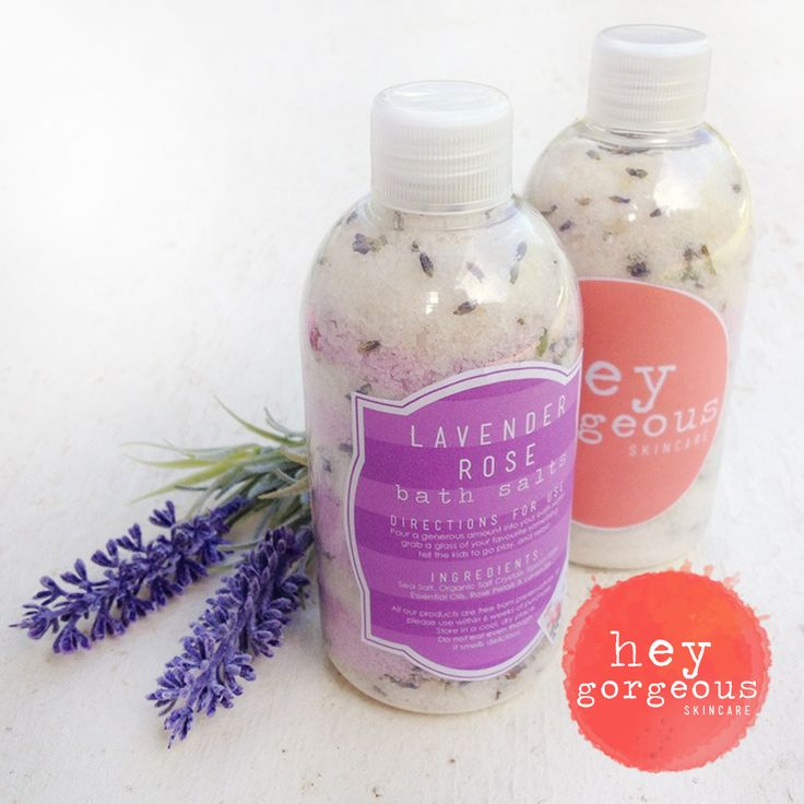 Trouble sleeping? Our divine Lavender Rose Bath Salts will soothe a tired mind and set you up for a perfect nights sleep. Made with Epsom, Khoisan salts and essential oils, it relieves tired muscles and conditions your skin too. Smells incredible