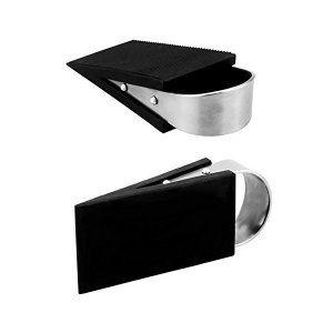 Elome イローム ステンレス 樹脂 ラバー ゴム製 ドアストッパー 階段