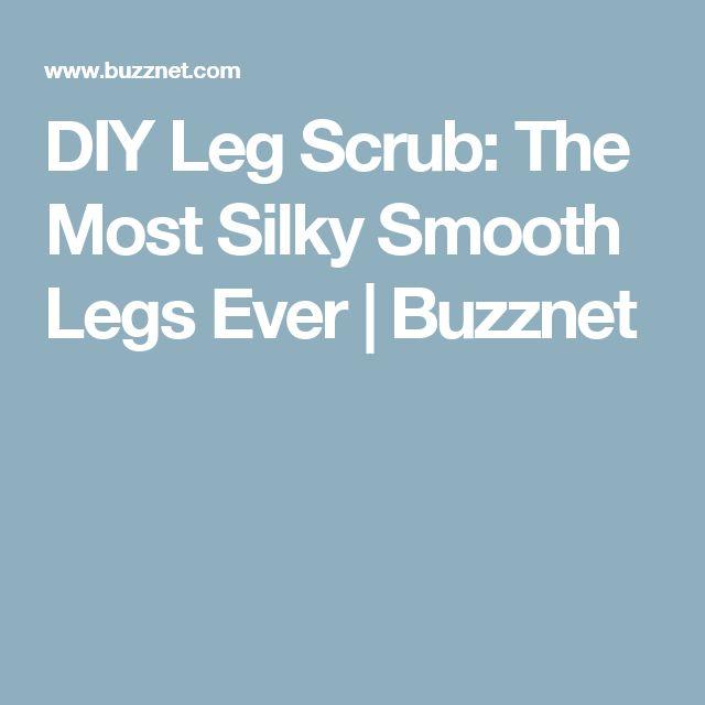 DIY Leg Scrub: The Most Silky Smooth Legs Ever | Buzznet