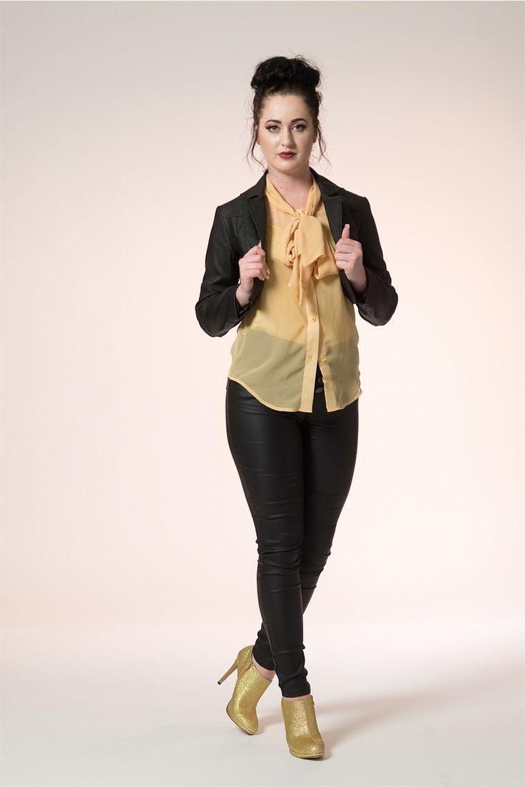 Victoria Crop Jacket