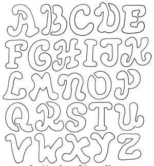 Oieeee!!!!  Voltei queridas!!!!   Hoje deixo pra vcs lindos moldes de letras para patchcolagem... Façam muitas artes com elas... bjoooo     ...