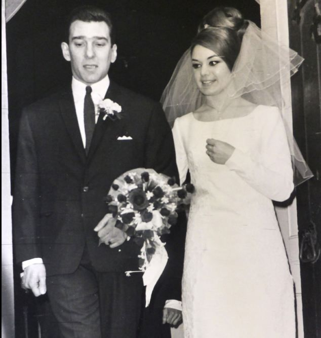 A diary written by Frances Kray about her life with Reggie (pictured above on their weddin...