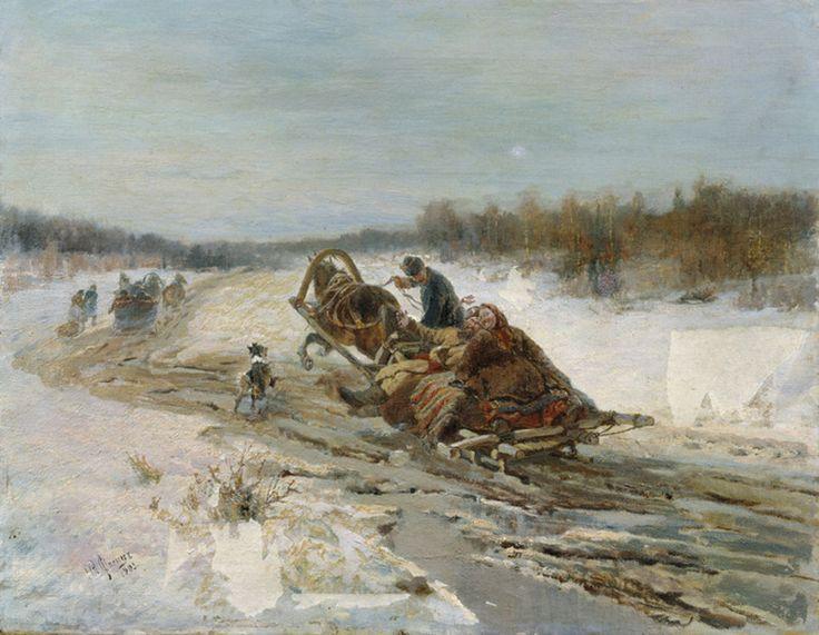Френц Р.Ф. Масленица