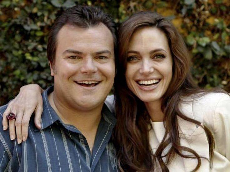 Angelina Jolie gives Jack Black's wife her old maternity dress ...