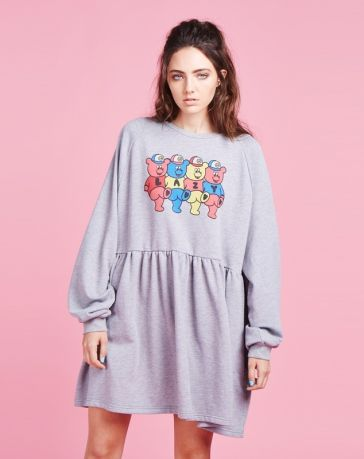 OMG I WANT // Lazy Oaf Teddy Sweater Dress