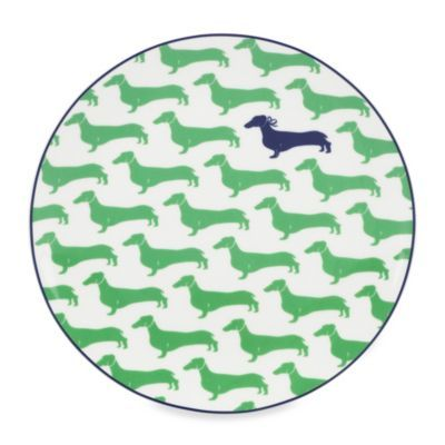 Buy Kate Spade New York Wickford Dachshund Accent Plate from Bed Bath