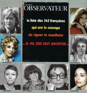 "5 avril 1971: publication du ""manifeste des 343 salopes"""