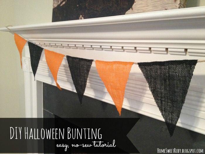 Home Sweet Ruby: DIY Fall Burlap Banner + Giveaway!