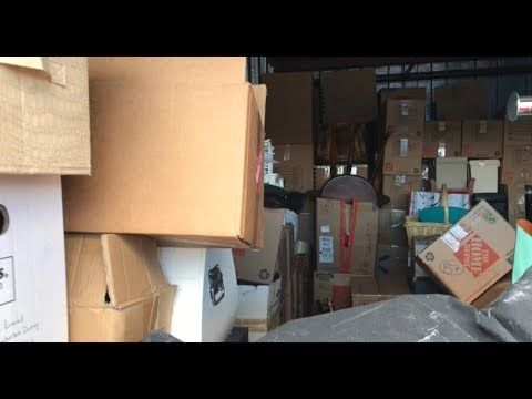 Surprise storage auction unbox #38 $2150 10by20 Pirate style