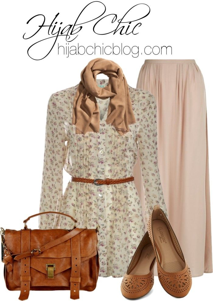 Hijab Style: Little Mistress chiffon top