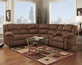 Bills Bros Furniture, Cedar Rapids, IA: Aruba Chocolate Reclining Sectional