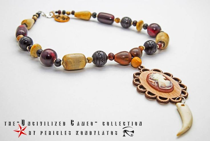 "The ""Uncivilized Cameo"" collection by Pericles Kondylatos"